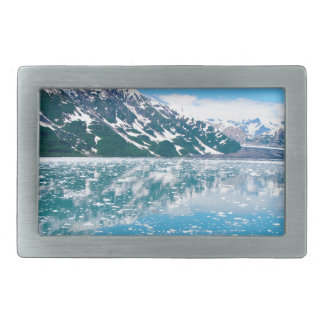 Alaska Glasier Rectangular Belt Buckle