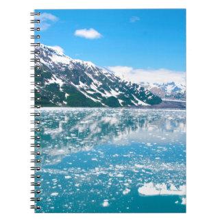 Alaska Glasier Spiral Notebook