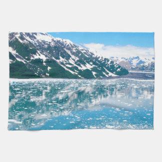 Alaska Glasier Tea Towel