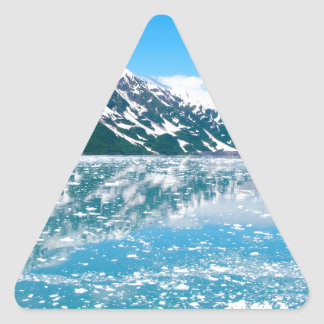 Alaska Glasier Triangle Sticker