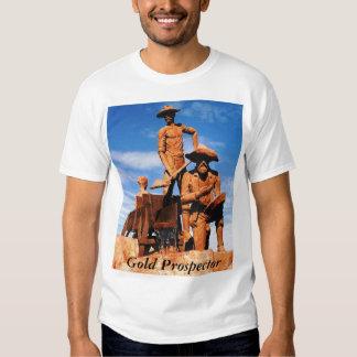 Alaska Gold Prospector Photo Printed Tee