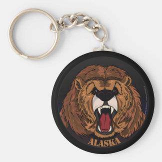 Alaska Grizzly Keychain