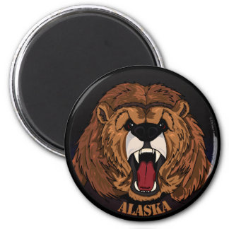 Alaska Grizzly magnet