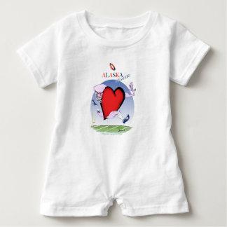 alaska head heart, tony fernandes baby bodysuit