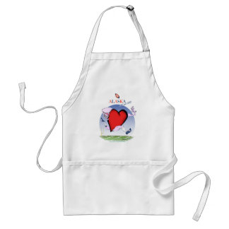 alaska head heart, tony fernandes standard apron