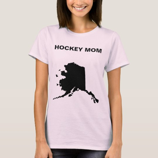 Alaska Hockey Mum T-Shirt
