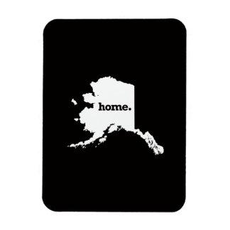 Alaska Home Rectangular Photo Magnet