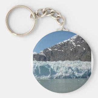 Alaska Ice Basic Round Button Key Ring