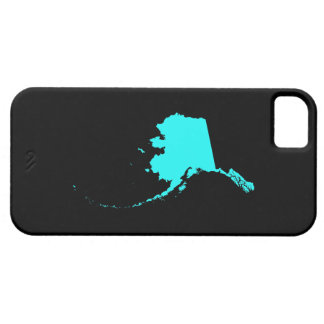 Alaska in Aqua and Black Barely There iPhone 5 Case