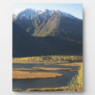Alaska in Autumn Photo Plaques