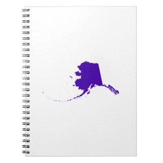 Alaska in Purple Notebook