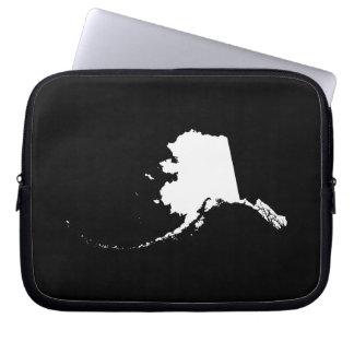 Alaska in White Laptop Sleeve