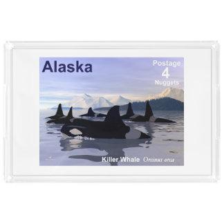 Alaska Killer Whales Stamp