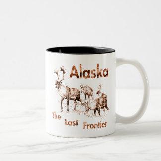 Alaska Last Frontier Moose Elk Mugs