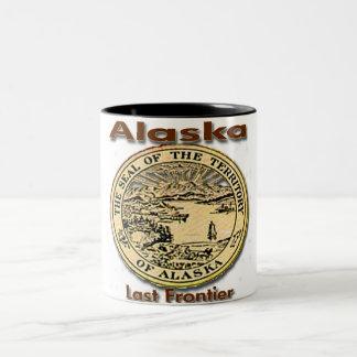 Alaska Last Frontier State Seal Coffee Mug