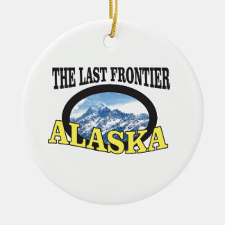 alaska logo art christmas ornament