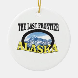 alaska logo art christmas ornament