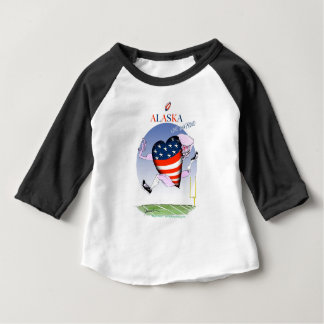 alaska loud and proud, tony fernandes baby T-Shirt