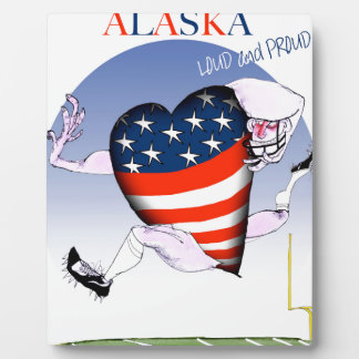 alaska loud and proud, tony fernandes display plaques