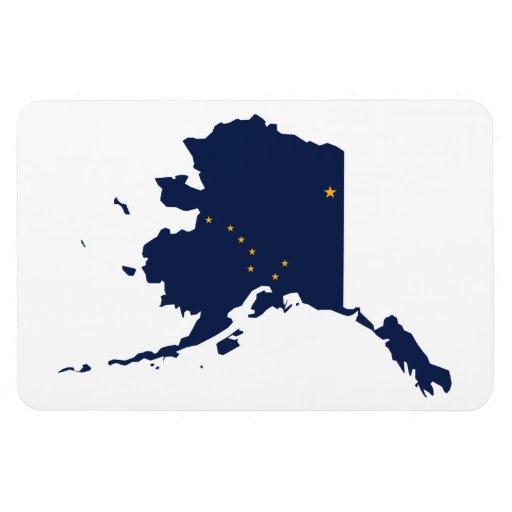 ALASKA MAP FLEXIBLE MAGNETS
