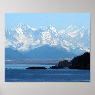 Alaska Mountains 552 Poster