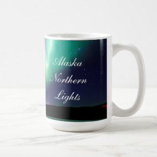 ALASKA NORTHERN LIGHTS COFFEE MUG