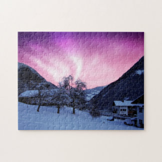 ALASKA NORTHERN LIGHTS PUZZLE