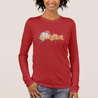 Alaska Orange Vintage long sleeve Long Sleeve T-Shirt