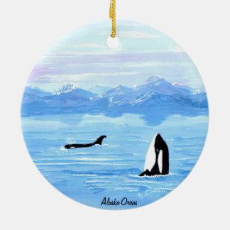 Alaska Orca Ornament