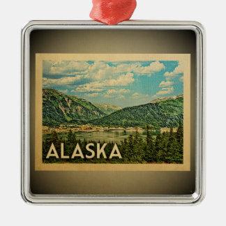 Alaska Ornament Vintage Travel