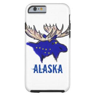 Alaska pride state flag elk artistic iPhone 6 case Tough iPhone 6 Case