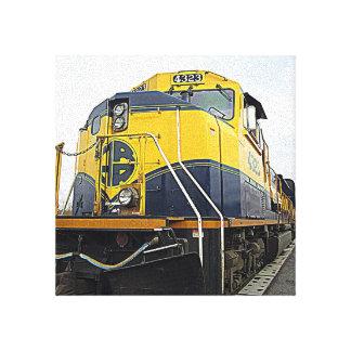 Alaska Railroad Stretched Canvas Prints
