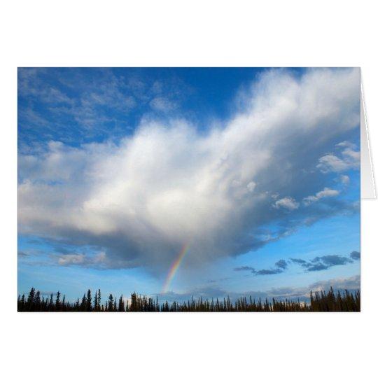 Alaska Rainbow Card
