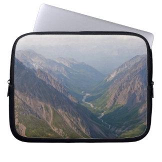 Alaska Range Mountains, Alaska, USA Laptop Sleeve