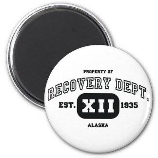 ALASKA Recovery 6 Cm Round Magnet