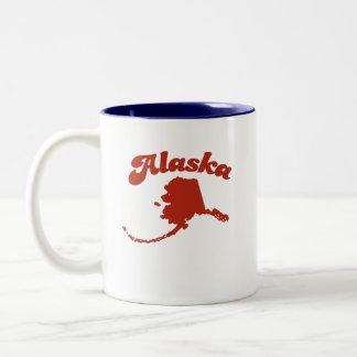 ALASKA Red State Mugs