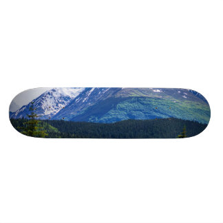 Alaska Scenic Byway Mountain 21.3 Cm Mini Skateboard Deck