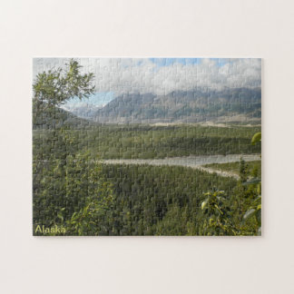Alaska Scenic View Jigsaw Puzzle