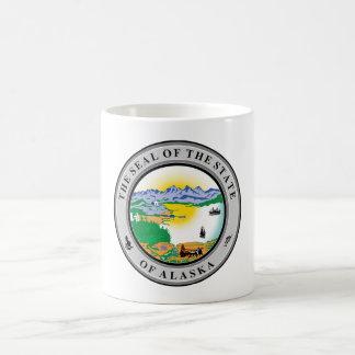 Alaska seal united states america flag symbol repu coffee mug