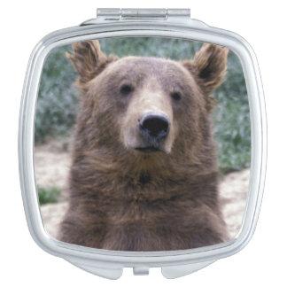 Alaska, southeast region Brown bear Ursus Mirror For Makeup