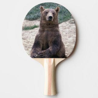 Alaska, southeast region Brown bear Ursus Ping Pong Paddle