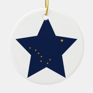 Alaska Star Christmas Ornament