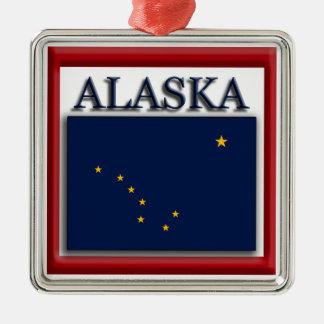 Alaska State Flag Christmas Ornament