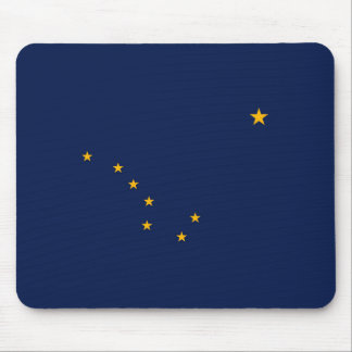 Alaska State Flag Design Mouse Pad