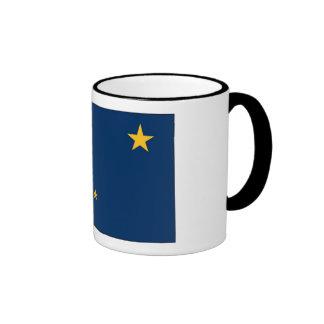 Alaska State Flag Ringer Mug