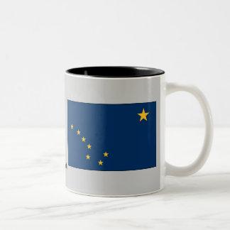 Alaska State Flag Two-Tone Coffee Mug