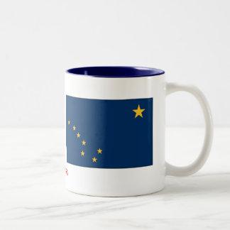 Alaska State Flag Two-Tone Mug