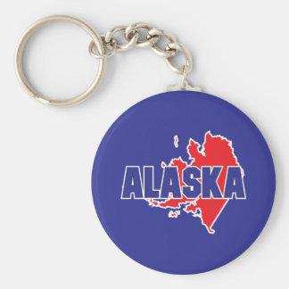Alaska State Key Ring