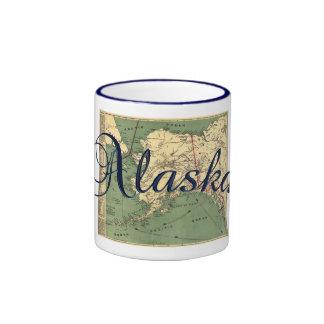 Alaska State Map Coffee Mug