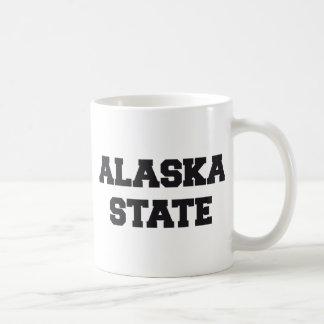 Alaska state mugs